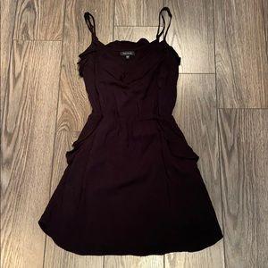 Aritzia black summer dress talula